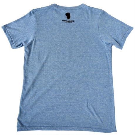河童の三平 T-Shirts(特製タグ付) Color ブルー