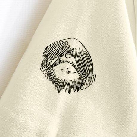 〔10月6日から順次発送〕[YokaiShop限定Ver]悪魔くん 見えない学校 T-Shirts Color  亜麻色