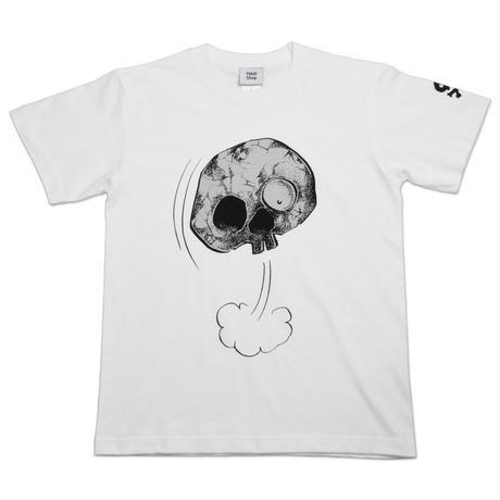 墓場の鬼太郎 しゃれこうべ T-Shirts Color  ホワイト