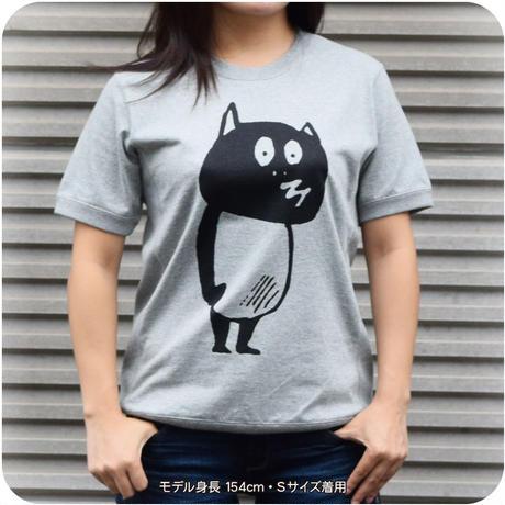 河童の三平 スウェット風T-Shirts(特製タグ付) Color グレー