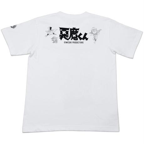 [YokaiShop限定Ver]悪魔くん 見えない学校 T-Shirts Color  ホワイト