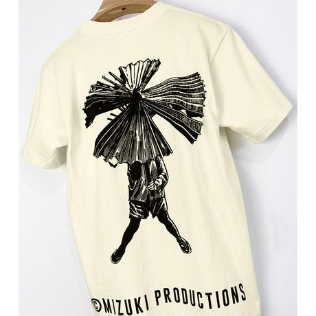 〔予約販売2021年10月下旬〜11月上旬発送予定〕河童の三平 三平傘 T-Shirts Color 亜麻色