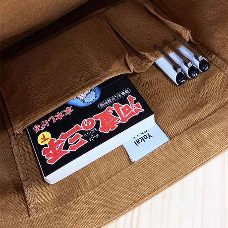 河童の三平 Tote Bag(特製チャーム付)Color ブラウン