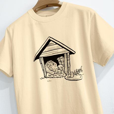 〔予約販売2021年10月下旬〜11月上旬発送予定〕悪魔くん 百目 T-Shirts  Color  オレンジクリーム
