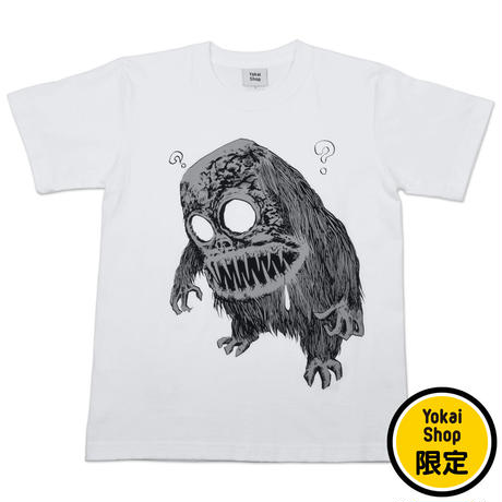 〔予約販売2021年10月下旬〜11月上旬発送予定〕[YokaiShop限定Ver]墓場の鬼太郎 妖怪獣 T-Shirts Color  ホワイト