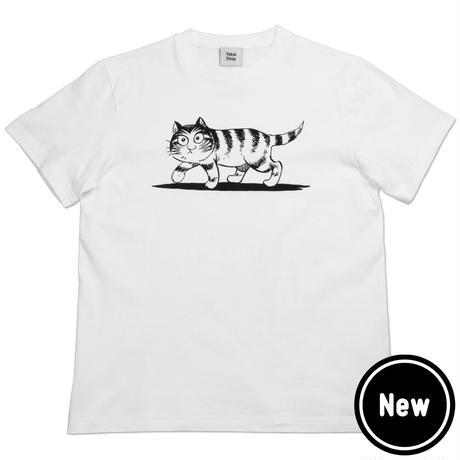 〔予約販売2020年12月下旬〜2021年1月上旬発送予定〕猫楠 T-Shirts Color  ホワイト
