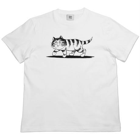 〔予約販売2021年5月下旬〜6月上旬発送予定〕猫楠 T-Shirts Color  ホワイト