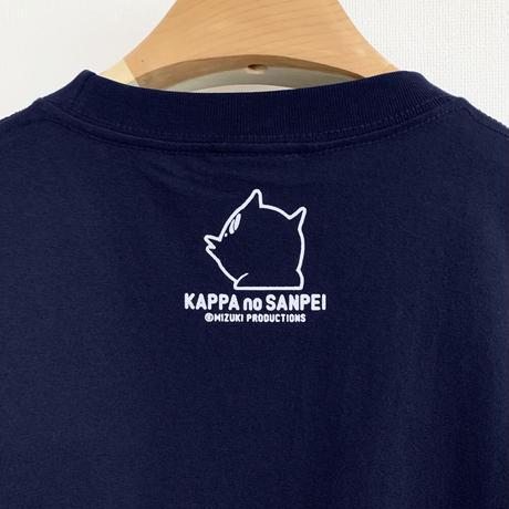 〔予約販売2021年10月下旬〜11月上旬発送予定〕河童の三平 おいくえよ T-Shirts Color 鉄紺