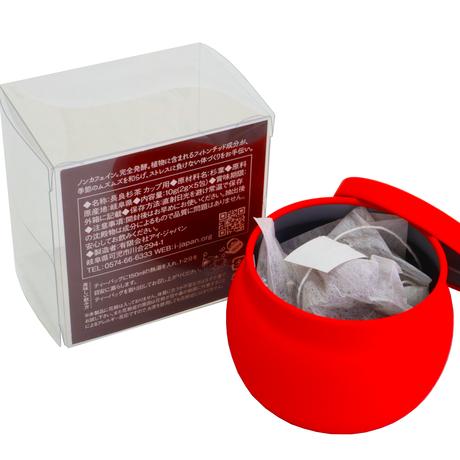 iJAPAN 長良杉茶 1杯用ティーバッグ・5包入(5杯分)|ギフトにも最適な缶入り