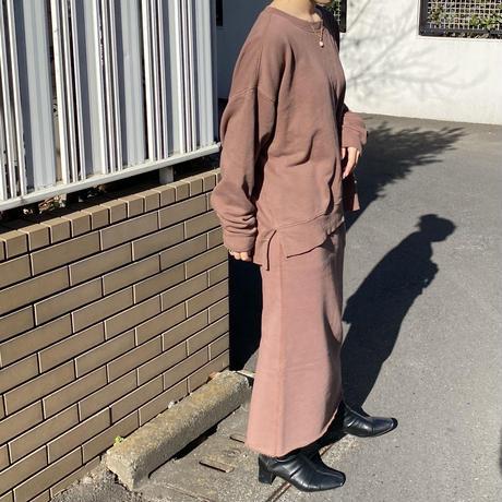 32/10裏起毛_バイオウォッシュ_ムジサイドスリットPO [2609714]