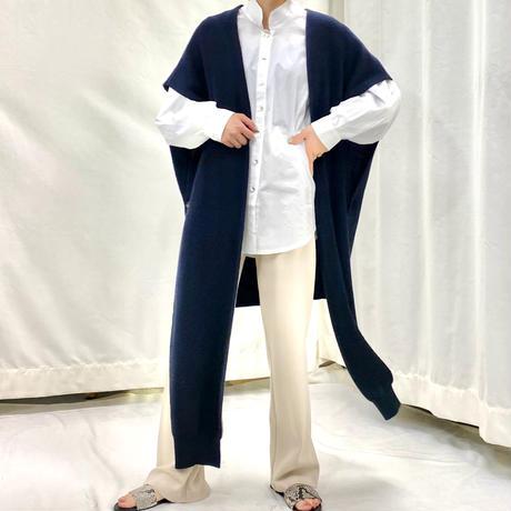 Front long vest  [2611822]