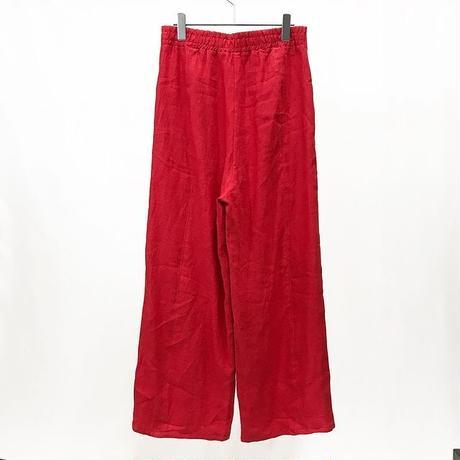 Linen flare pants [2601903]