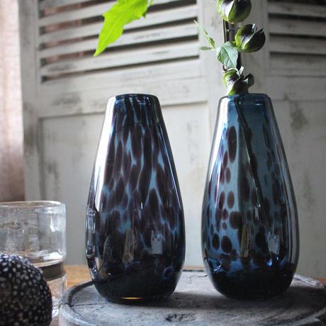 ≪nd-gl-dv-bl≫ Nordal deco vase / blue H17cm