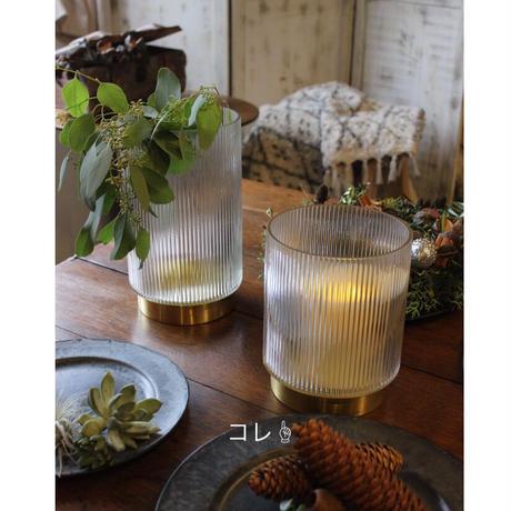 ≪nd-brs-v-s≫ Nordal RING vase w/lines,Brass  S