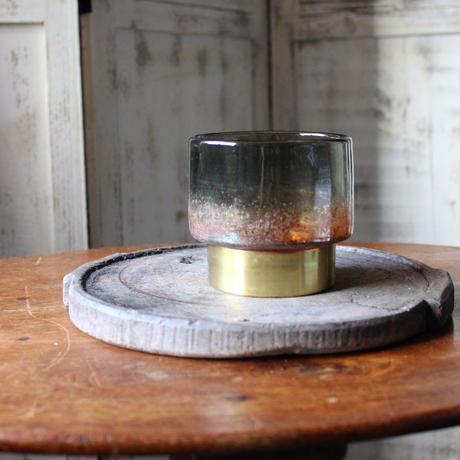 ≪nd-gl-lntn-glbrs-s≫ Nordal Glass lantern / multi S  H9.5cm