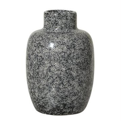 ≪blmv-pcr-v-blk≫ Bloomingville small flower vase H12cm / black