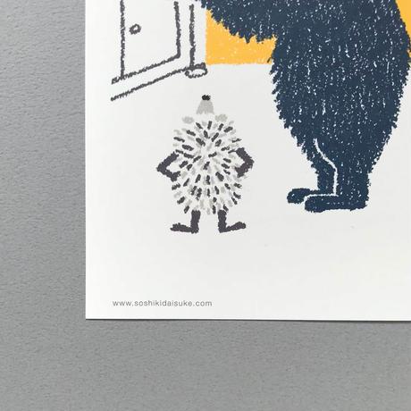 ポストカードセット/「ハリネズミの願い」