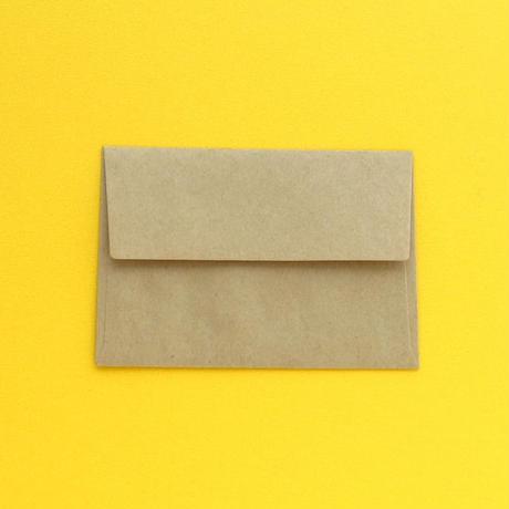 ミニ封筒セット/山小屋
