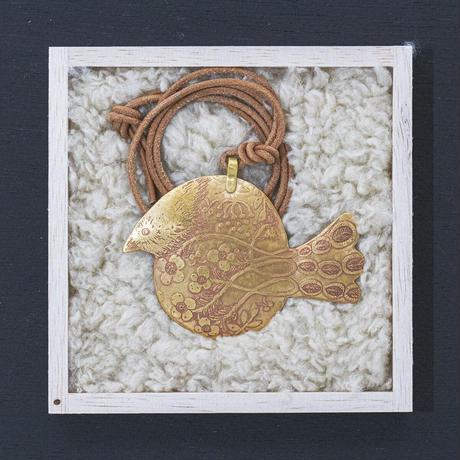 morinosu ペンダント「魚のような鳥」  P21