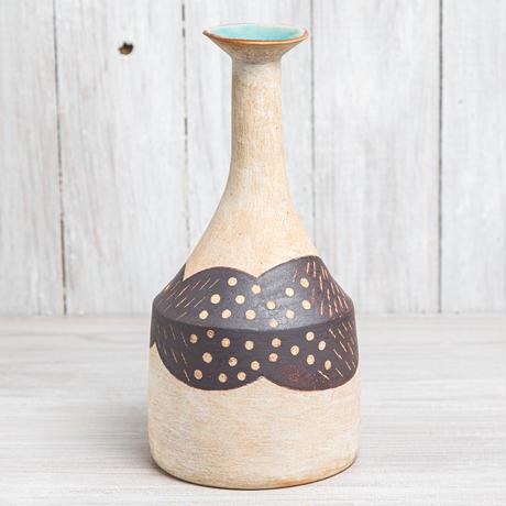 エヴァーソン朋子 陶作品「花器」A1