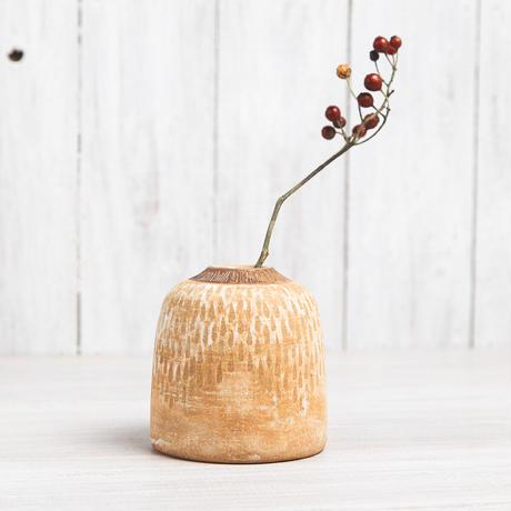 エヴァーソン朋子 陶作品「花器」A9