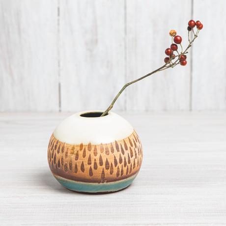 エヴァーソン朋子 陶作品「花器」A7