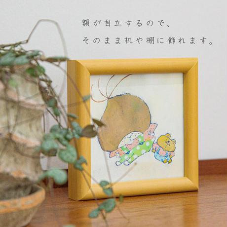 華 原画(小) くりぼーい「くいっ」
