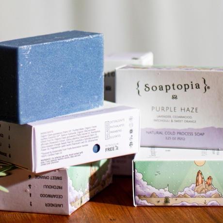 Bar Soap Purple Haze ; 3333339829927