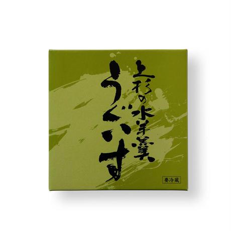 上杉の水羊羹/うぐいす
