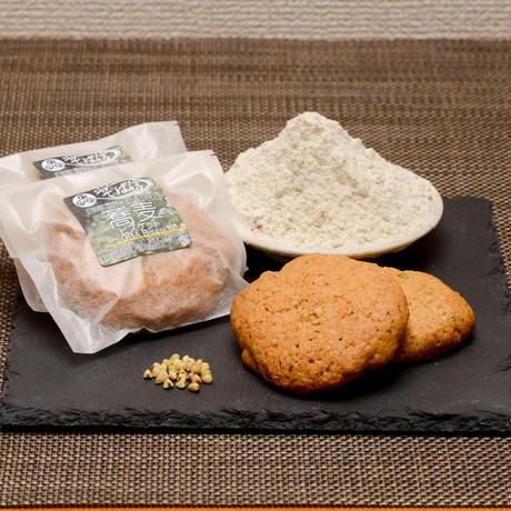 石臼挽き蕎麦ビスケット〈18個入り〉