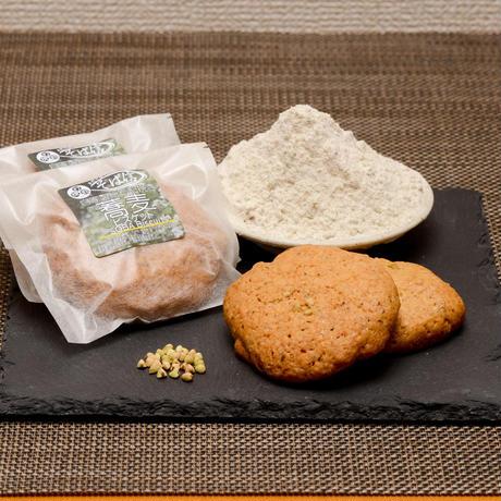 高品質冷凍便               蕎麦・蕎麦ビスケットギフトセット