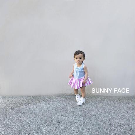【スカートビブパ SUNNY FACE】B-701