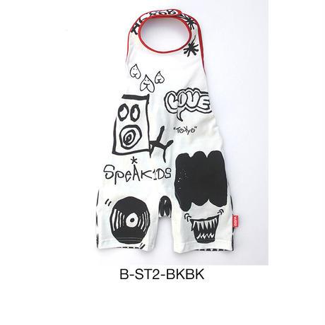 【ビブパ ストリートライン LOVE RECORD】B-ST2-BKBK