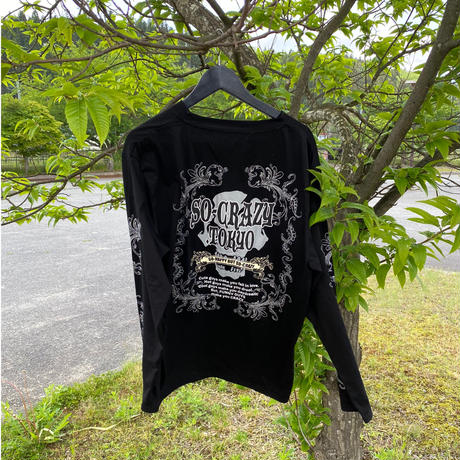 年中SO-CRAZY!意外と使い勝手の良いロングTシャツ第一弾(2色)※SOLT-2001