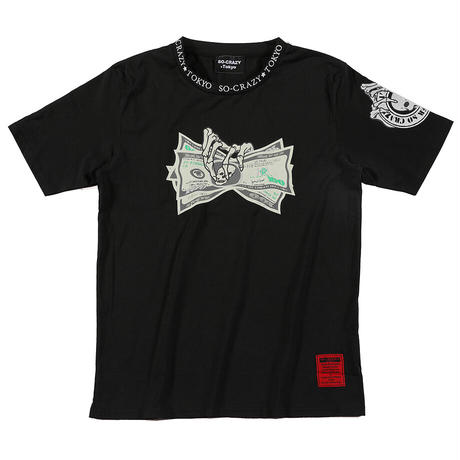 まさかの女性に人気!お金を掴むDollar Tシャツ(3色)※SOT-0009