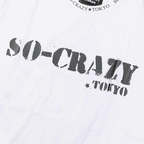 SO-CRAZY.TOKYO 創業第一弾 半袖Tシャツ!(2色)※SOT-0008