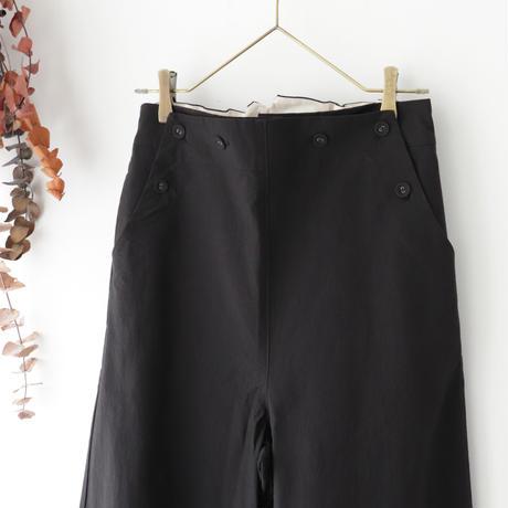 MAGALI マガリ | セーラー・ワイド・パンツ | ブラック