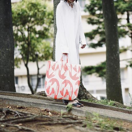 【MIKAMI】帆布ショッピングバッグ Z137 オオハシブルー