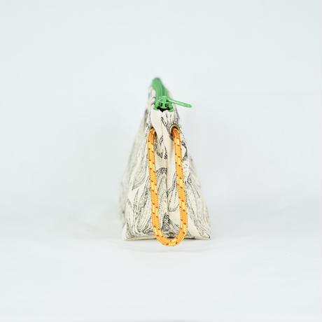 【MIKAMI】帆布ポーチ 大 Z126     アーティチョークブラック