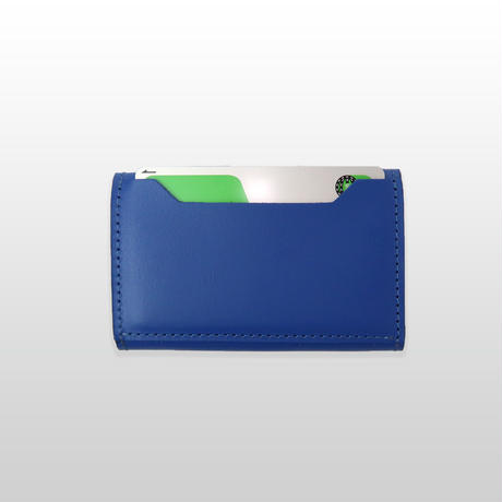 MINI WALLET/PEACOCK.BL