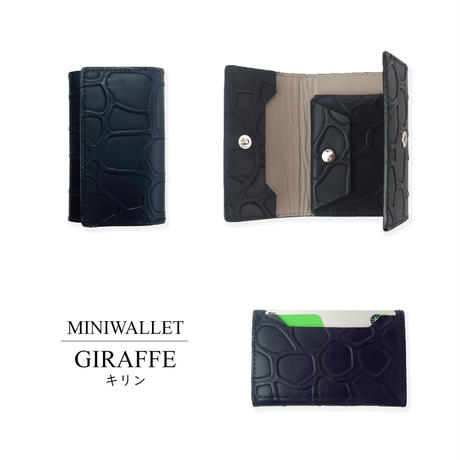 MINI WALLET/GIRAFFE.BK