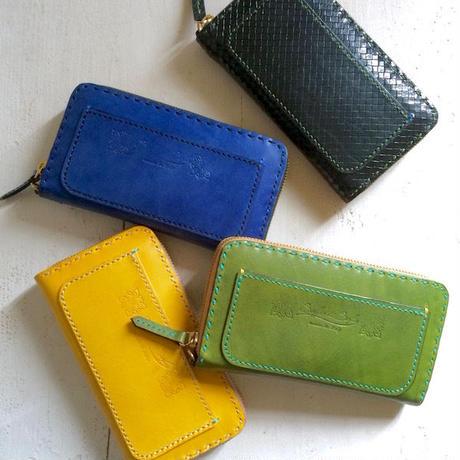 Balarm -Leather Long Wallet / Yellow