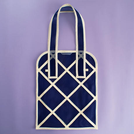 WINDOW TOTE BAG -Navy