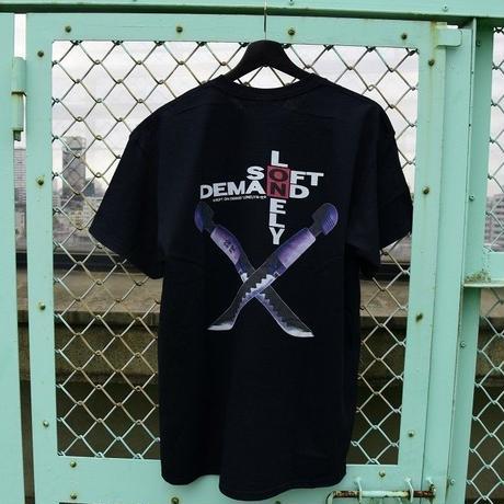 LONELY/論理OTONA NO WEAPON T-Shirt -black-