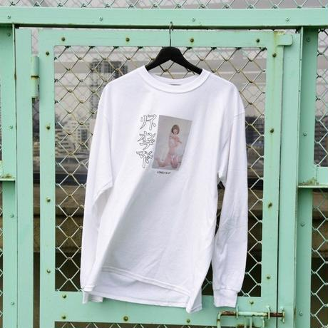 LONELY/論理 ICHIKAWAMASAMI S.O.D. Long Sleeve T-shirt  -white-