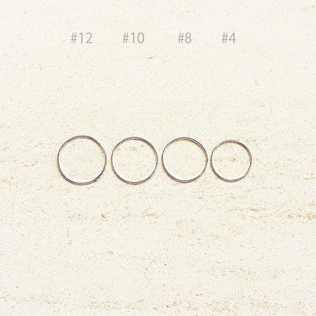 Halo ring (1P) / Silver