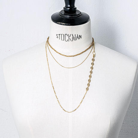 Stacking 02 necklace (3P)