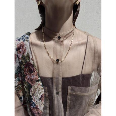 Norme long frame necklace / Men's long type (Gold)