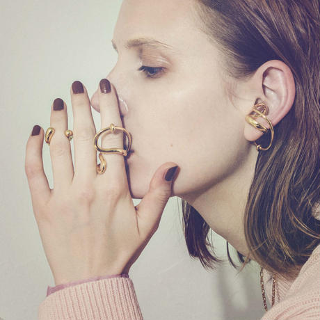 Neo coil earcuff ring (one color)