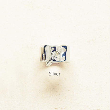 Peg metal ring / Silver